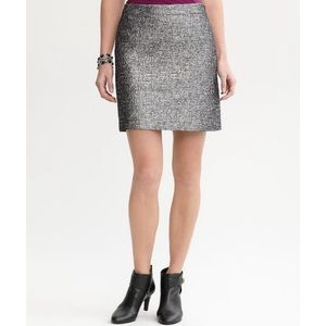 NWT Banana Republic Metallic Skirt-NYE 🎉